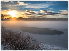 Nordbytjernet 9. desember 2018 #2 (Krogen) Tags: norge norway norwegen akershus romerike ullensaker nordbytjernet landscape landskap vinter winter krogen panasoniclumixgx7