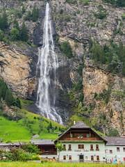 Water makes wonders (aleksej.cegner) Tags: waterfall greenery water mountain tree traveling austria