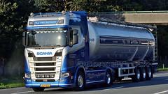 NL - h.j. van bentum >748< Scania NG S500 HL (BonsaiTruck) Tags: lag hj bentum scania lkw lastwagen lastzug silozug truck trucks lorry lorries camion caminhoes silo bulk citerne powdertank