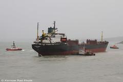 Kuzma Minin - 3 (Kernow Rail Phots) Tags: kuzmaminin russian 16000 ton cargo ship freighter falmouth cornwall kernow 18122018 gales rain heavyseas ap tugs ships boats