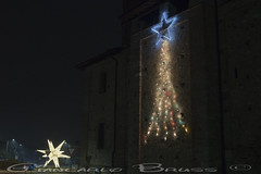 The stars (Giancarlo Bruss) Tags: natale luci luminarie street notte night notturne candle candele 2018 star stella snow neve christmas