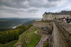 Köningstein (Julysha) Tags: königstein germany saxony fortress elbe architecture october autumn travel acr nikkor1635vr d800e tiffenhtndgrad people