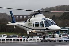 ZE416 QinetiQ Agusta A109 @ Castle Air Charters Ltd, Liskeard, Cornwall. (Sw Aviation) Tags: ze416 qinetiq agusta a109 castle air charters ltd liskeard cornwall helicopter flying flight sky overcast avgeek airplane planes avgeeks chopper rotor takeoff