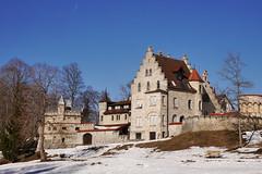 P1070381 (mireiatarres) Tags: castillo schloss nature nieve snow schnee winter invierno sun sol outside