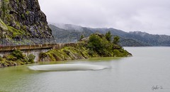 Abyss (g-liu) Tags: lakeberryessa monticello dam spillway water landscape california usa sony a6500 2019 february outdoor cloudy lake