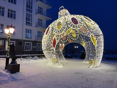Россия. Урал 2018. Russia. Ural 2018. (svv.david) Tags: россия урал 2018 russia ural snow winter new year building toy lamp