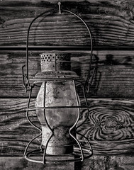 Gold Miner's Lantern (FotoGrazio) Tags: lantern waynesgrazio old fotograzio retro vintage light 1800s photoeffect texture stilllife oldwest olddays phototoart waynestevengrazio monochrome waynegrazio lightfixture beautiful woodgrain mining lovely antique blackandwhite photomanipulation 1900s