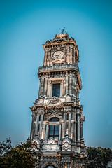 Dolmabahçe Saat Kulesi (Fëras Jėrf) Tags: clock tower dolmabahçe sky istanbul istanbullovers turkey
