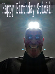 Happy Birthday Sticki! 2019 (brancusi7) Tags: happybirthdaysticki2019 absurd art allinthemind brancusi7 bizarre collage culturalkitsch christianserialkillersprisonartclub culturalxrays dadapop damesofdada domesticsurrealism eyewitness eidetic exileineden ersatz evolution eye ectoplasm globalsoapoperareality ghoulacademy gaze hypnagogia haunted hypnopompic insomnia identity intheeyeof innerspace insecurityconsultants illart interplanetary joker jung johnseven kitschculture kitschhorror loneclownofthepharmaceuticalplain mythology mirror modernromance neodada odd oneiric obsession popsurrealism popkitsch popart phantomsoftheid popculture random strange schlock trashy taboo timetravel unknown vernacularculture visitation victorianvalues vision weird