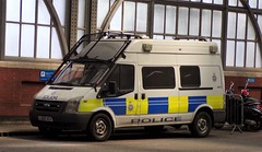 6293 - BTP - LX60 AGV - 101_1665 (Call the Cops 999) Tags: uk gb united kingdom great britain england 999 112 emergency service services vehicle vehicles police constabulary law and order enforcement 101 policing london 6 6th may 2018 btp british transport ford transit personnel carrier lx60 agv