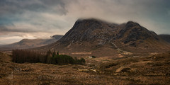 Buachaille Etive Mòr (GenerationX) Tags: a82 altnafeadh barr buachailleetivemor buachailleetivemòr djimavic devilsstaircase glencoe glenetive lagangarbh lagangarbhhut lairiggartain neil rivercoupall scotland scottish stobdearg westhighlandway bridge brown clouds dawn grass landscape morning mountains river sky sunrise water wood