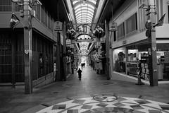 downslope (ababhastopographer) Tags: kyoto winter morning shinkyōgokudōri sanjōshinkyōgoku slope arcade 京都 新京極通り 三条新京極 坂 冬 朝 元旦 アーケード
