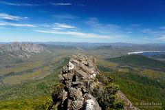 20190113-12-Rocky outcrop (Roger T Wong) Tags: 2019 australia mtwedge rogertwong sel24105g sony24105 sonya7iii sonyalpha7iii sonyfe24105mmf4goss sonyilce7m3 tasmania bushwalk hike outdoors southwest tramp trek walk
