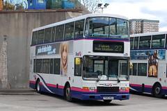 First Volvo Olympian 31681 P585WSU - Falkirk (dwb transport photos) Tags: first volvo olympian alexander royale bus decker 31681 p585wsu falkirk