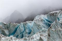 Fox Glacier in the Clouds (explored) (Jean-Marie Will) Tags: neuseeland gletscher eis berge wolken nebel fox foxglacier