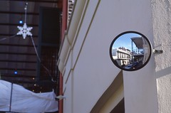Reflection (TAZMPictures) Tags: neworleans jazz frenchquarter bourbonstreet