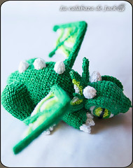 Green crochet dragon (LaCalabazadeJack) Tags: dragon creature beast monster fantasy magic cute kawaii geek green amigurumi crochet animal ganchillo pattern patrón yarn plush toy doll handmade handcraft craft tutorial la calabaza de jack cristell justicia tienda online shop artesanía venta comprar