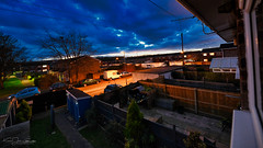 Darkening Sky (AreKev) Tags: darkeningsky sky darksky rainclouds darkclouds clouds sunset dusk milewalk mile walk philippaclose hengrove whitchurch bristol somerset southwestengland england uk luminar3 nikond850 nikon d850 sigma1424mmf28dghsmart sigma 1424mm 1424mmf28dghsm