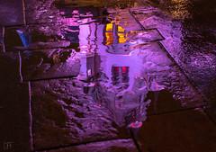 Water Reflection of Castle 1_16_2019 EXPLORE (Domtabon) Tags: disneyland dl dlr disney disneylandresort fantasyland mousewait