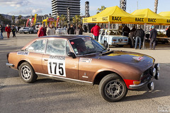 Monte-Carlo Historique 007 (Escursso) Tags: 175 1976 2019 22e 504 504coupev6 barcelona barcelone catalonia catalunya cotxes fia historique montecarlo peugeot cars classic historic motorsport racing rally rallye spain
