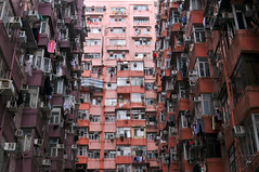 Dense Residential | Hong Kong (香港), China (Ping Timeout) Tags: hong kong hongkong china sar 香港 island south special administrative region people's republic prc territory december 2018 vacation holiday trip 香港特區 香港特区 quarry bay residential architecture home balcony window laundry high density apartment complex king road mount parker manly plaza po lee building wai market clothes hang pole unit small east district neighbourhood local 鰂魚涌 lai chi 麗池 point 惠利大廈 寶利大廈 萬利廣場 air conditioning compressor courtyard public housing house outdoor indoor tower curtain colour