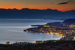Ohrid Sunset (hapulcu) Tags: balkan fyrom herbst macedoine macedonia macedonie makedonien ohrid automne autumn autunno lake manastir monastery otoño toamna македонија