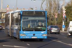 PDZ-836 (MHU823) Tags: mercedesbenz citaro facelift csuklós budapest bkk bkv használt pótlóbusz mávhév