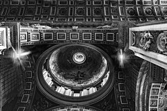 Dome Interior - St Peter's Basilica - The Vatican - Rome (wooiwoo) Tags: basilicapapaledisanpietroinvaticano dome interior rome stpetersbasilica thepapalbasilicaofstpeterinthevatican thevaticancity