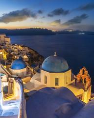 Santorini Views (JH Images.co.uk) Tags: santorini greece night hills houses domes church cross greek clouds duck sea water cliff hdr dri oia island sunrise steps