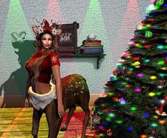 Merry Christmas (BellaParx) Tags: christmas raregacha secondlife secondlifefashion rariti maitreya catwa letre doux hypnose groupgift gameart zenith pumec tentacio psychobyts