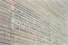img911 (Buenos Aires loucoporanalogicas) Tags: reveuflex fuji color 400 buenos aires monumento las victimas del terrorismo de estado parque la memória httpswwwyoutubecomwatchvcq7w3qttq