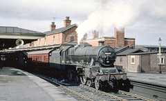 45659 DRAKE at Gloucester Eastgate September 1962 by john Wiltshire: Peter Brabham collection (peter.brabham) Tags: john wiltshire