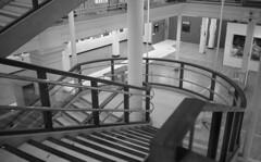 George Henry Lee's (the underlord) Tags: voigtlanderbessar4a voigtlander r4a rangefinder rangefindercamera bessa cosinavoigtlander ilford ilfordfp4 200asa film bulkroll 10minutesatstock kodakd76 colorskopar35mmf25 colorskopar 35mmlens voigtlandercolorskopar35mmf25mc liverpoolbiennial2018 artspace publicart gallery shop staircase