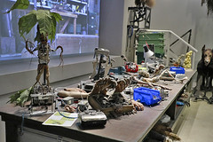 Harry Potter - Creature Effects Dept table (raluistro) Tags: london london2018 europe harrypotter warnerbrothersstudios