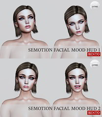 SEmotion Facial Mood HUD Set 1 & 2 @ Collabor88 (Marie Sims) Tags: semotion sl secondlife slfashion slavatar set ao animations animation avatar anim animaitons animaions aohud animated animarions autumn annoeyd event emotion expression expressions 3d release rigged trendy trend yummy typing funny hud inworld pose poses posing photographer photosl photo ptoho props stands modeling fashion female fancy facial free face feelings flirty fun gift girl girly giveaway hot kawaii libellune love mocap model mood woman catwa vanity collabor88 review