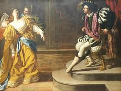 Artemisia Gentileschi,(Italian,1593-1651/53),Ester before Ahasuerus,oil on canvas (marcos2077) Tags: metropolitanmuseumofart artemisiagentileschi a