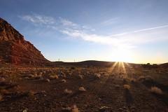 Desert Sunrise. (Just_Thera) Tags: redrocks lasvegas sunrise desert