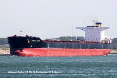 Mineral Subic (andreasspoerri) Tags: bulker hanjinbusan hongkong imo9456678 mineralsubic rotterdam