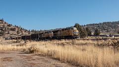 Bound for Weed (lennycarl08) Tags: unionpacific unionpacificrailroad trains railroad
