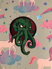Cthulhu patch #patch #cool #love #horror #hplovecraft #wow #horrorblock #cthulhu (direngrey037) Tags: patch cool love horror hplovecraft wow horrorblock cthulhu