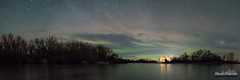 Fading Green (kevin-palmer) Tags: stitched mallardslanding stxavier saintxavier montana bighornriver winter february nikond750 nikon50mmf14nikkorafd panorama panoramic water northernlights auroraborealis aurora geomagneticstorm green color colorful north nightsky stars starry space astronomy astrophotography dark early morning clouds
