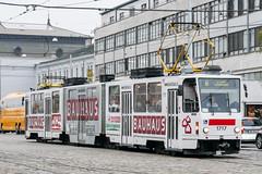 BRN_1717_201811 (Tram Photos) Tags: ckd tatra kt8d5rn2 brno brünn strasenbahn tram tramway tramvaj tramwaj mhd šalina dopravnípodnikměstabrna dpmb vollwerbung ganzreklame