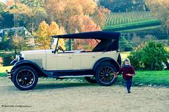 La Petite Fille D' Automne (LUMEN SCRIPT) Tags: castlelumenscriptfrancebrissacchristmasmarket retro vintage car transport travel tourism france french romance colours