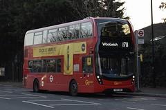 Go-Ahead London subsidiary London Central Alexander Dennis Enviro400H MMC (EH175 - YY67 URC) 178 (London Bus Breh) Tags: goahead goaheadgroup goaheadlondon londoncentral alexander dennis alexanderdennis alexanderdennislimited adl alexanderdennisenviro400hmmc enviro400hmmc e400hmmc e40h mmc hybrid hybridbus hybridtechnology eh eh175 yy67urc 67reg london buses londonbuses bus londonbusesroute178 route178 kidbrooke kidbrookeparkroad tfl transportforlondon