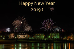 Happy New Year 2019 to all my Flickr friends and followers ! (Petra Schneider photography) Tags: newyearseve fireworks happy new year 2019 newyear2019 happynewyear reykjavik tjörnin
