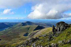 Snowdon 2 (Pixelkids) Tags: mountsnowdon snowdonia mountains view bergwelt wolken rocks summit wales landscape