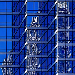Leftover from 2018 #4 (2n2907) Tags: abstract reflection glass office building windows skyscraper