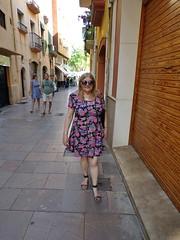 Catalonia (HerandMe2019...Please Read Profile) Tags: wife women woman female people older mature 60something blonde beauty amateur dress europe espana spain catalonia travel street