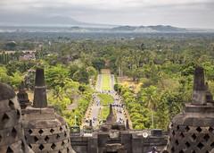 Borubudur (Hans van der Boom) Tags: vacation holiday asia indonesia indonesië java borubudur candi temple id