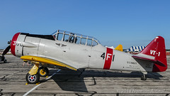 North American SNJ-4 (Norman Graf) Tags: n224x northamerican airplane aircraft airshow 2017thunderovermichigan snj snj4 at6 harvard plane tom texan trainer vt1 wwii warbird